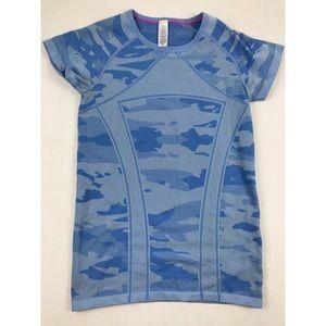 Ivivva by lululemon fly tech swiftly girls shirt L